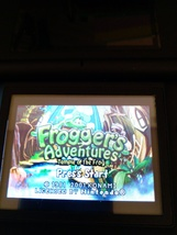 Nintendo Game Boy Advance GBA Frogger's Adventures: Temple Of The Frog image 1