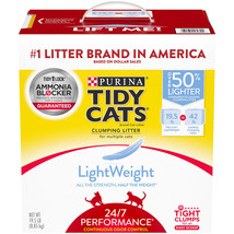 (19.5 lbs.) Purina Tidy Cats LightWeight 24/7 Performance Clumping Cat L... - $35.60