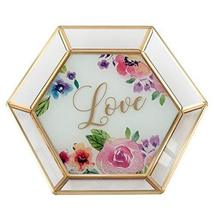 Lillian Rose GA212 LO Floral Love Trinket Dish, Multi - $23.23