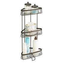 InterDesign York Lyra Free Standing Bathroom or Shower Corner Storage Sh... - $48.78