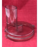General Electric Food Processor D3FP1B Mixing Bowl Lid VTG Part ONLY wit... - $13.81