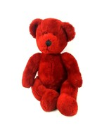 "Russ Berrie Plush Teddy Bear Ruby Red 14"" Stuffed Animal  - $14.84"