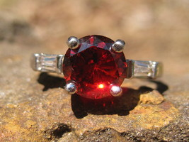 haunted ring Angels of the Crimson Ray and 7 ancient spells  - $55.00
