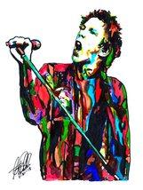 "Johnny Rotten, Sex Pistols, Vocals, Punk Rock, Music, 18""x24"" Art Print - $19.99"