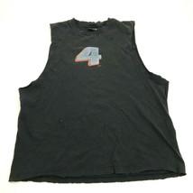 VINTAGE Fox RIcky Carmichael Tank Top Cut Off Shirt Men's Size XL 1X Dis... - $36.83