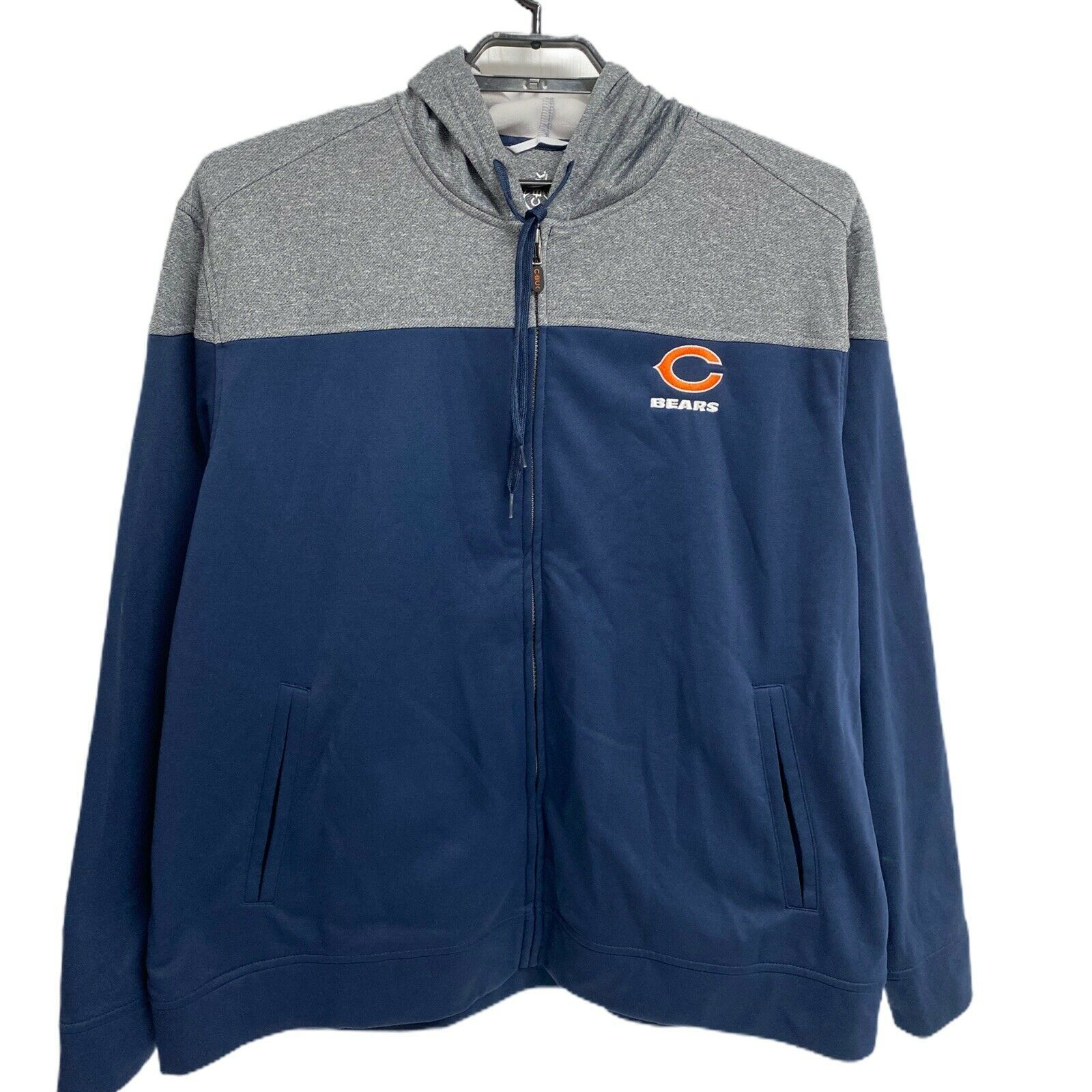 Primary image for C-Buk By Cutter & Buck Full Zip Jacket NFL Chicago Bears XXL