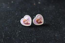 Disney Frozen Anna Elsa Heart Earrings - $8.91