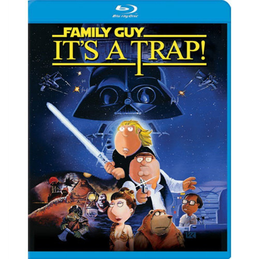 Family Guy It's a Trap (Blu-ray)