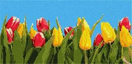 pepita Tulip Banner Needlepoint Kit - $180.00