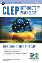 CLEP Introductory Psychology Book + Online (CLEP Test Preparation) [Pape... - $14.20