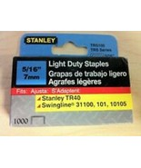 "Stanley 5/16"" TRS105 Light Duty Staples (1000 ct Pack) - $7.67"