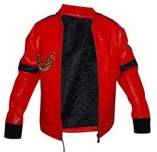 Smokey and the Bandit Burt Reynolds Red Bomber Leather Jacket image 2