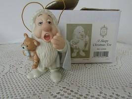 LENOX CHINA DISNEY SHOWCASE ORNAMENT A SLEEPY CHRISTMAS EVE SLEEPY DWARF... - $29.65