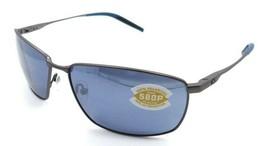 Costa Del Mar Sunglasses Turret Matte Dark Gunmetal / Gray Silver Mirror... - $245.00
