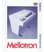 ORIGINAL Vintage 1973 Mellotron 400 Catalog - $148.49