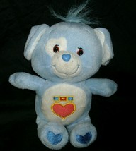 "11"" CARE BEARS COUSINS LOYAL HEART BLUE DOG STUFFED ANIMAL PLUSH DOLL TO... - $13.33"