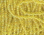 Seed bead rocaille full hank yellow 4 thumb155 crop