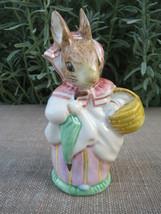 """MINT Vintage Royal Albert~Mrs. Rabbit~Beatrix Potter~England~4""""Tall~Collectible - $64.99"""