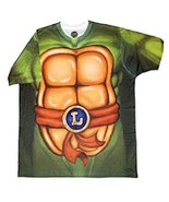 TMNT TEENAGE MUTANT NINJA TURTLES LEONARDO MEN'S  LARGE T-SHIRT NEW - $15.97