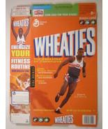 MT WHEATIES Box 2004 18oz CARL LEWIS [G7E13p] - $6.38