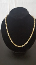 Vintage Gold Rope Chain - $14.99