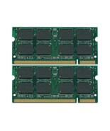 4GB KIT 2x2GB PC2-5300S DDR2-667 667Mhz 200pin SODIMM Memory Module - $29.00