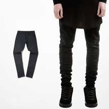skinny jeans Classic Waxing All-match style slim black jean men 2018 men... - $53.04