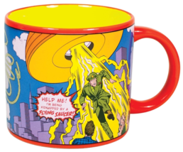 WONDER WOMAN Mug Heat Activated Transforming Coffee Mug UFO Rescue Diana Prince  image 6