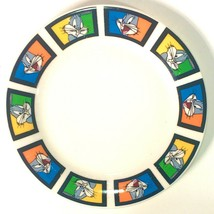 """Bugs Bunny Looney Tunes 7"""" Dessert Plate by Gibson Designs Discontinued Pattern - $8.99"""