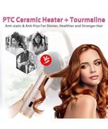 Rotating Curling Iron Ceramic Heating Hair Stick Professional Magic Heating Tube - $56.29