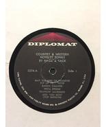 Raro Hack & Sack - Country & Western Gadget Canzoni Vinile LP - Diplomat... - $98.10