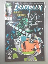 Deathlok #4 Part 3 of 4 Brain Drain [Comic] [Jan 01, 1991] Marvel - $5.86