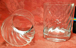 RARE 2 PER BOX ORREFORS Double Old Fashioned Glasses SWEDEN Gunnar Cyrén NIB image 1