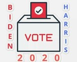 Biden Harris stickers Joe Biden and Kamala Harris stickers decals, vote 2020