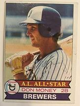 Don Money Signed Autographed 1979 Topps Baseball Card - Milwaukee Brewers - $5.93