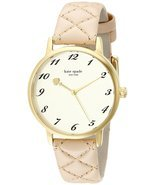 kate spade new york Women's 1YRU0785 Metro Gold-Tone Stainless Steel Watch - £143.98 GBP