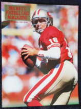 Joe Montana - Dec 1990-  Issue #9 -Beckett Football Card Magazine - $9.95