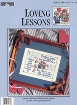 Loving Lessons Children Cross Stitch Pattern/Instructions Leaflet  NEW - $2.67