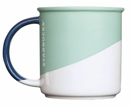 Starbucks Sage Angle Dipped Mug (12 oz) Holiday 2017 New Fast Ship Rare ... - $29.39