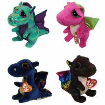 "6""  Plush Toy Dragon Choose From 4 Different Colors NEW With Tag - $14.99"