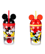 Minnie Mickey Mouse Tumbler with Snack Cup and Straw Disney Eats New 2019 - $34.95