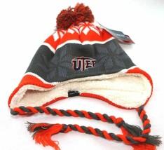 Texas El Paso Miners NCAA Ridge Pom Beanie Hat Cap, One Size, Orange - $20.78