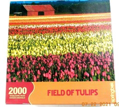 Springbok Field Of Tulips 2000 Piece Puzzle 34x42 John McAnulty Photo - $9.99