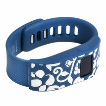 French Bull Designer Fitbit Charge/charge HR Sleeve Vines Blue New in Box image 1