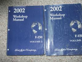 2002 Ford F-150 F150 Camion Servizio Negozio Riparazione Manual Set OEM ... - $158.37