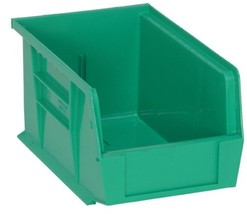 Quantum QUS221 Plastic Storage Stacking Ultra Bin, 9-Inch by 6-Inch by 5-Inch, G