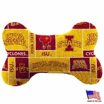 Iowa State Plush Bone Toy - Large - £9.61 GBP