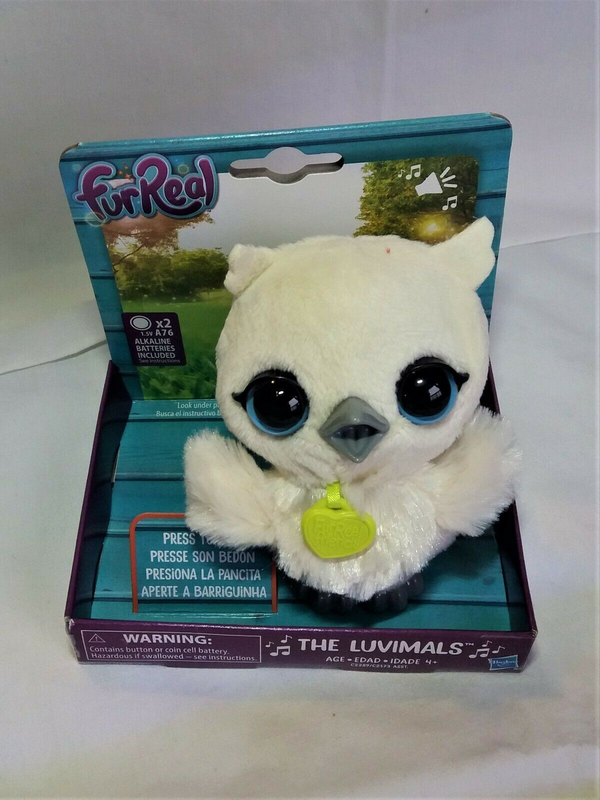 "Primary image for FurReal The Luvimals Sweet Singin' Baby Grand Owl 5"" Brand New In Box Works"