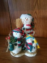 """HOLIDAY THREE SNOWMAN 7"""" TALL AND 5"""" WIDE - $12.99"""