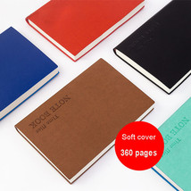 Classic 360 Pages Thick Leather Journals Hardcover 1 Year Daily Blank No... - $18.17